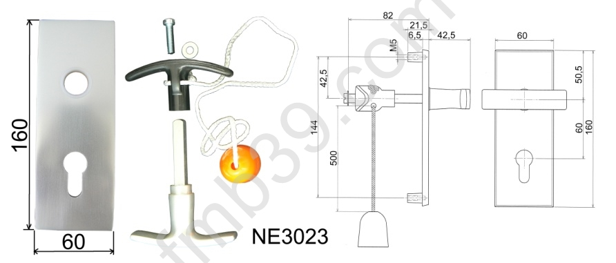 Ne3023 plaque de propret et poign e accessoires portes de garage serrures - Plaque de proprete pour porte ...