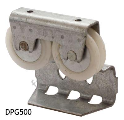 Dpg500 chariot de porte coulissante accessoires portes de garage accessoires divers - Chariot pour porte de garage coulissante ...