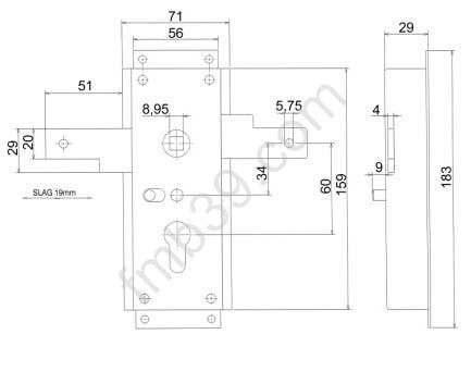 Ne1846 02 serrure de porte de garage accessoires - Verrouillage porte de garage basculante ...