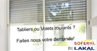Tabliers et volets roulants Tabliers et volets roulants