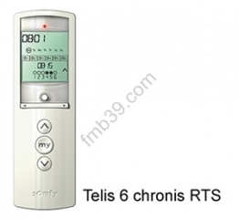 SOMFY RTS Telis 6 chronis RTS