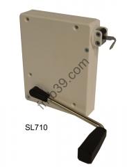 Sl716 equerre de fixation pour enrouleur manivelle manoeuvres par sangles enrouleurs - Enrouleur volet roulant ...